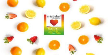 Bao cao su masculan fruiti edition