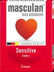 Bao cao su masculan® Sensitive