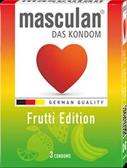 Bao cao su masculan® Frutti Edition