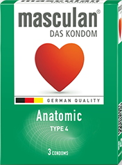 Bao cao su masculan® Anatomic